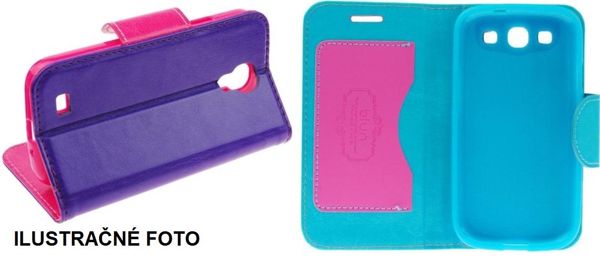 Puzdro na mobil iPhone 4 4S modro ružové - Mobil24.sk ... 03879aad846