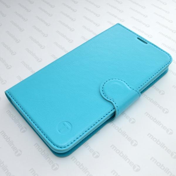 Knižkové puzdro na mobil iPhone 6 6s tyrkysové ee2210aed68