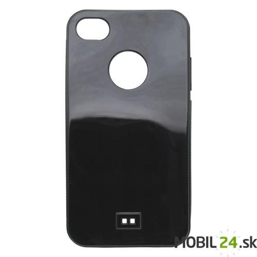 Puzdro na mobil iPhone 4 4S gumené čierne 03cbe46a62f