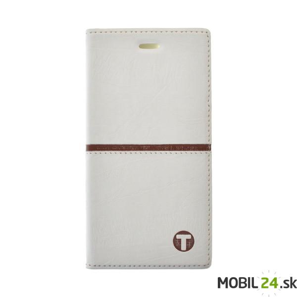 Knižkové puzdro Luxury iPhone 6 6s Plus biele - Mobil24.sk ... 9cfc47c102e