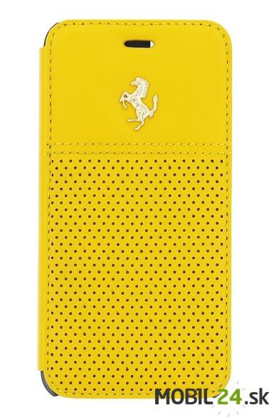 Puzdro Ferrari iPhone 6 6S žlté knižkové e37c62f5f08