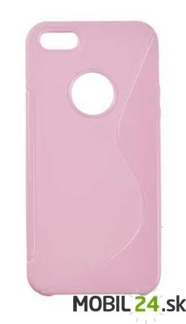 Púzdro gumené iPhone 5 5s SE ružové f790099ae51