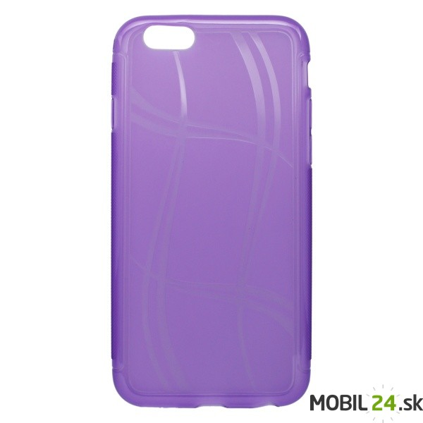 Puzdro na mobil iPhone 6 6s gumené Well Lines fialové - Mobil24.sk ... ce114d81631