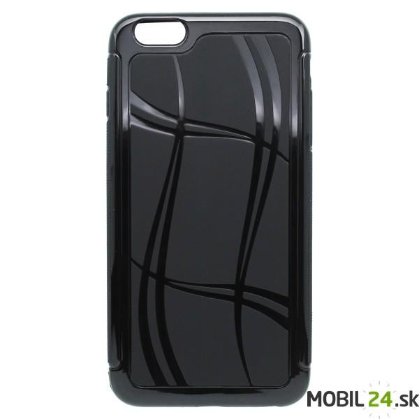 Puzdro na mobil iPhone 6 PLUS gumené Well Lines čierne - Mobil24.sk ... 5a099859b34