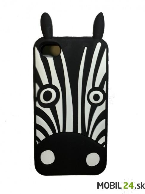 Puzdro pre iPhone 4 4S zebra čierna 3D - Mobil24.sk - Príslušenstvo ... 2235e993563