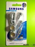 Handsfree Samsung D500 Originál strieborné