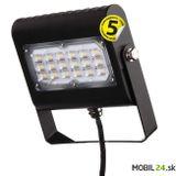 LED reflektor PROFI PLUS 30W, neutrálna biela, čierny