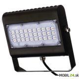 LED reflektor PROFI PLUS 50W, neutrálna biela, čierny