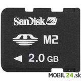 Pamäťova karta M2 2GB SanDisk