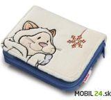 NICI peňaženka - mačka snežná