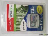 Pamäťova karta Mini SD 512 MB