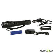 LED nabíjacie kovové svietidlo 5W, FOKUS