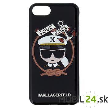 Puzdro Karl Lagerfeld iPhone 7/ iPhone 8 námorník