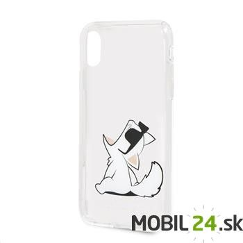 Puzdro Karl Lagerfeld iPhone X/XS Fun Choupette